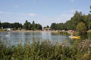 Base de loisirs du colvert à bonzée près de Metz