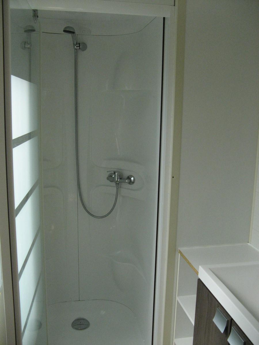 Salle de bain Mobil home