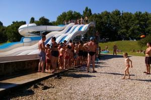 Toboggan Bonzee base de loisirs du Colvert