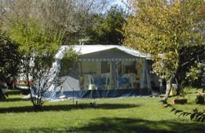 Emplacement camping résidentiel