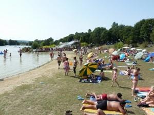 plage base de loisirs du Colvert